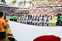 Carson, CA - Thursday August 03, 2017: Japan prior to a 2017 Tournament of Nations match between the women's national teams of the United States (USA) and Japan (JPN) at the StubHub Center.