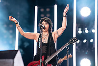 NASHVILLE, TENNESSEE - JUNE 07: Joan Jett performs on stage during day 2 of 2019 CMA Music Festival on June 07, 2019 in Nashville, Tennessee. <br /> CAP/MPI/IS/AW<br /> ©MPIIS/AW/Capital Pictures