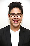 """George Salazar during the first day of rehearsals for the Broadway cast of """"Be More Chill"""" at Pearl Studios on January 10, 2019 in New York City."""