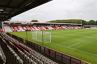 General view of Stevenage FC during Stevenage vs Norwich City, Friendly Match Football at the Lamex Stadium on 11th July 2017