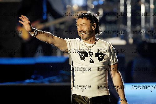 Queen and Paul Rodgers - performing live at The 46664 Concert honouring Nelson Mandela on his 90th Birthday held in Hyde Park,London - 27 June 2008.  Photo credit: George Chin/IconicPix