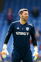 Ben Foster of West Brom laughing during the EPL - Premier League match between Crystal Palace and West Bromwich Albion at Selhurst Park, London, England on 13 May 2018. Photo by Carlton Myrie / PRiME Media Images.