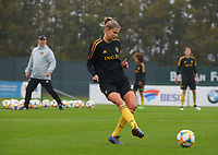 20191006 TUBIZE: Red Flames' Justine Vanhaevermaet is pictured at the Open Training of Red Flames on Sunday 6th of October 2019, Tubize, Belgium PHOTO  SPORTPIX.BE | SEVIL OKTEM