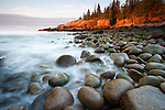 Rocks at Otter Cliffs, Acadia National Park
