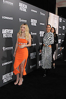 BEVERLY HILLS, CA - OCTOBER 13: Jennifer Connelly, Dakota Fanning attends the Special Screening Of Lionsgate's 'American Pastoral' on October 13, 2016 in Beverly Hills, California. (Credit: MPA/MediaPunch).