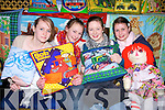 Niamh Guerin, Jennifer Walsh, Ro?isi?n O'Sullivan and Aideen O' Connor, from Listowel were all smiles for the camera at the arts and crafts fair at the Listowel Arms hotel on Sunday...   Copyright Kerry's Eye 2008