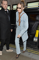 Gigi Hadid Spotted In London