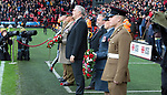 Sheffield United and Burnley pay their respects to those who have served our country, Sheffield, United Kingdom, 2nd November 2019. Photo by Glenn Ashley.