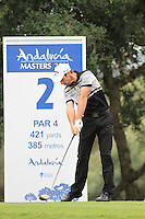Oliver Wilson (ENG) during the pro-am at the  Andalucía Masters at Club de Golf Valderrama, Sotogrande, Spain. .Picture Fran Caffrey www.golffile.ie