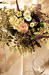A wedding flower arrangement