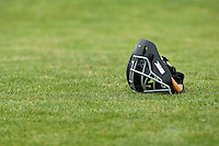21 May 2009: A catcher mask lays on the infield during the 2009 challenge de France, a tournament with the best French baseball teams - all eight elite league clubs - to determine a spot in the European Cup next year, at Montpellier, France.