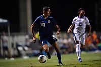 Miami, FL - Tuesday, October 15, 2019:  Manny Perez #23 during a friendly match between the USMNT U-23 and El Salvador at FIU Soccer Stadium.