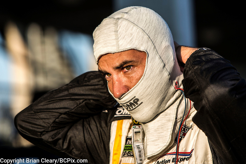 Joao Barbosa, 12 Hours of Sebring, Sebring International Raceway, Sebring, FL, March 2015.  (Photo by Brian Cleary/ www.bcpix.com )