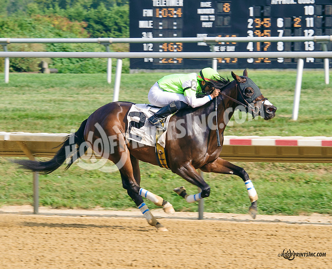 Key to the Highway winning at Delaware Park on 9/5/15