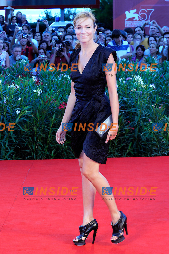 "- ""67 Mostra Internazionale D'Arte Cinematografica"". Saturday,2010 September 11, Venice ITALY..- In The Picture: The actress Stefania Rocca on the red carpet for the evening of the awards...Photo STEFANO MICOZZI / Insidefoto"