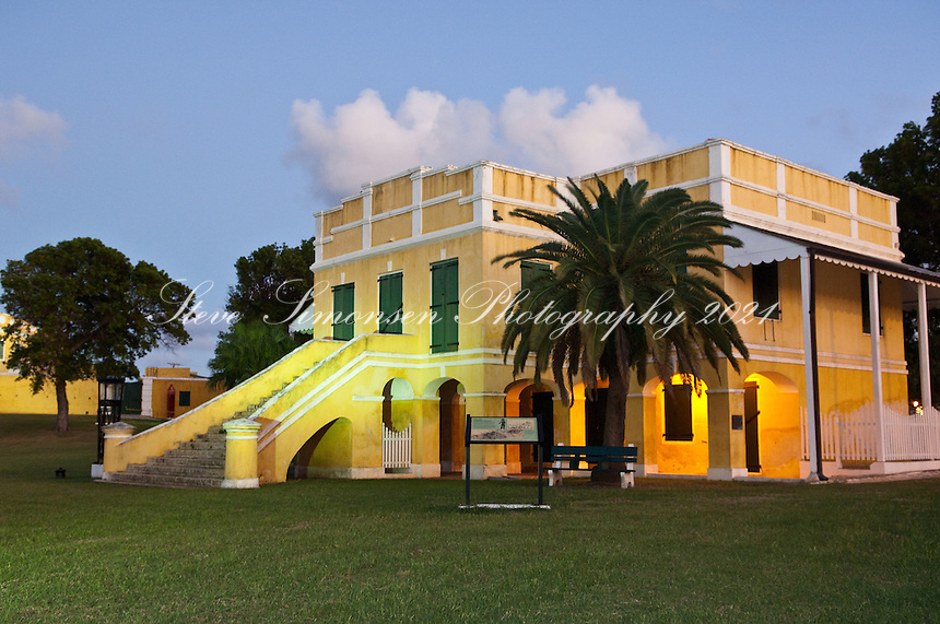 Fort Christiansvaern <br /> Christiansted National Historic Site, <br /> St. Croix, US Virgin Islands