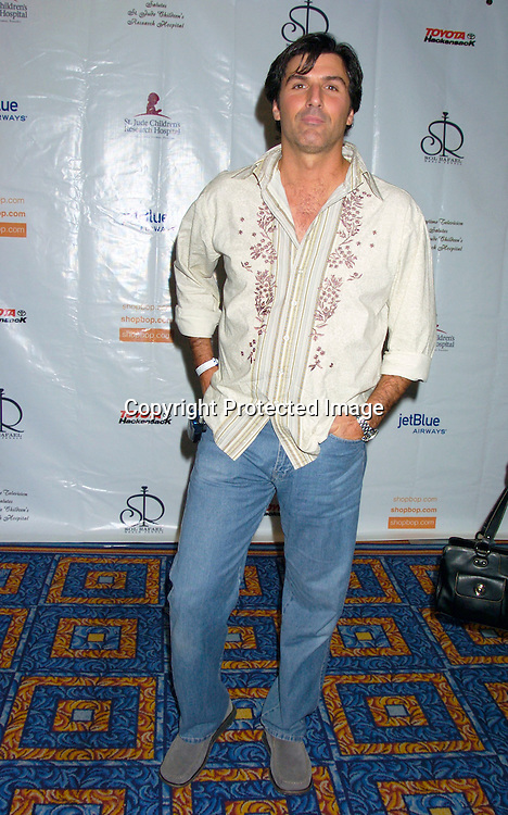 Vincent Irizarry ..at the 10th Annual Daytime Television Salutes St. Jude Children's Research Hospital Benefit on October 8, 2004 at the Marriott Marquis Hotel in New York City...Photo by Robin Platzer, Twin Images