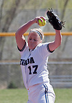 April 20, 2012:   Nevada Wolf Pack pitcher Mallary Darby in the circle against the University of Hawai'i Warrior during their NCAA softball game played at Christina M. Hixson Softball Park on Friday in Reno, Nevada.