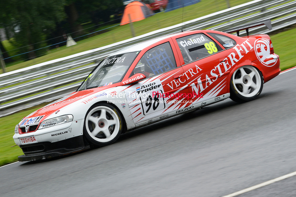 #98 John Cleland - Vauxhall Vectra during HSCC Super Touring Car Championship qualifying at Oulton Park,
