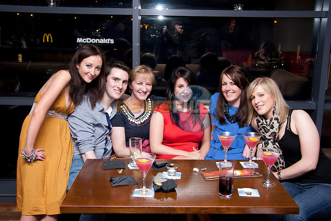 Heather, Aiden, Susan, Claire, Eva and Amanda having a night out at Bru..Photo: Shane Maguire/Newsfile.