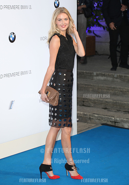 Donna Air arriving for the BMW i3 Launch Party, at Old Billingsgate, London. 29/07/2013 Picture by: Alexandra Glen / Featureflash
