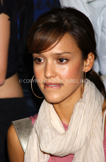 WWW.ACEPIXS.COM . . . . . ....NEW YORK, OCTOBER 15, 2005....Jessica Alba at the 2005 Digilife Gaming and Consumer Electronics Convention held the the Javits Center.....Please byline: KRISTIN CALLAHAN - ACE PICTURES.. . . . . . ..Ace Pictures, Inc:  ..Craig Ashby (212) 243-8787..e-mail: picturedesk@acepixs.com..web: http://www.acepixs.com