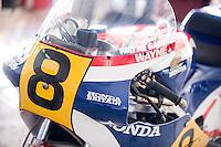 Valencia Classic & Legends 2015 with Giacomo Agostini at Ricardo Tormo Circuit in Valencia, Spain