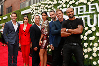 Alex Russell, Lina Esco. Peter Onorati, Stephanie Sigman, Jay Harrington, Kenny Johnson, Shemar Moore<br /> at the 2017 Summer TCA Tour CBS Television Studios' Summer Soiree, CBS, Studio City, CA 08-01-17<br /> David Edwards/DailyCeleb.com 818-249-4998