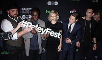 NEW YORK, NY-October 19:Drew Powell, Chris Chalk, Erin Richards, Ben McKenzie, Cory Michael Smith,at PaleyFest New York presents Gotham at the Paley Center for Media in New York.October 19, 2016. Credit:RW/MediaPunch