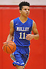 Cole Anthony #11 of Archbishop Molloy dribbles upcourt during a varsity boys' basketball game against Half Hollow Hills West at Long Island Lutheran High School on Sunday, Jan. 3, 2016. Archbishop Molloy defeated Hills West by a score of 70-56.