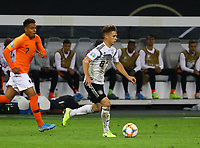 Joshua Kimmich (Deutschland Germany) - 06.09.2019: Deutschland vs. Niederlande, Volksparkstadion Hamburg, EM-Qualifikation DISCLAIMER: DFB regulations prohibit any use of photographs as image sequences and/or quasi-video.