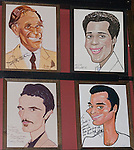 Artwork, Sardi's Restaurant, New York, New York