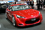 Toyota FT-86 on display during the first press day for the 41th Tokyo Motor Show, 21 October 2009 in Tokyo (Japan). The TMS will be open for the public from 23 October 2007 to 4 November 2009.