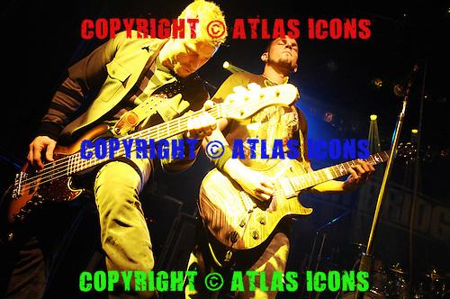 Alterbridge; Live, In New York City, 2007.Photo Credit: Eddie Malluk/Atlas Icons.com