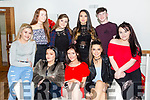 Roisin Doyle, Ardfert, celebrates her 17th birthday with friends at La Scala's on FridayPictured front l-r Sarah O'Brien, Denise Boher, Roisin Doyle, Peggy Lenihan, Amy Roche. Back l-r Lauren Lenihan, Clodagh Thompson, Tamila Khussainoba and Killian Dalton