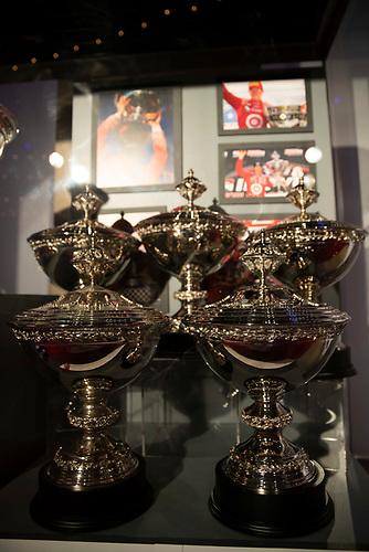 Scott Dixon's 5 Astor Cup Championship Trophies