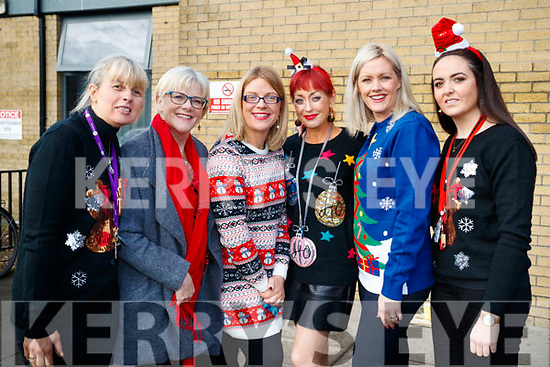 Kerry College Further Education, held a Christmas party for their students on Friday last, pictured l-r: Carmel Kelly, Anne Doyle, Celia O'Shea, Michelle Dempsey O'Connor and Toireasa Ferris.