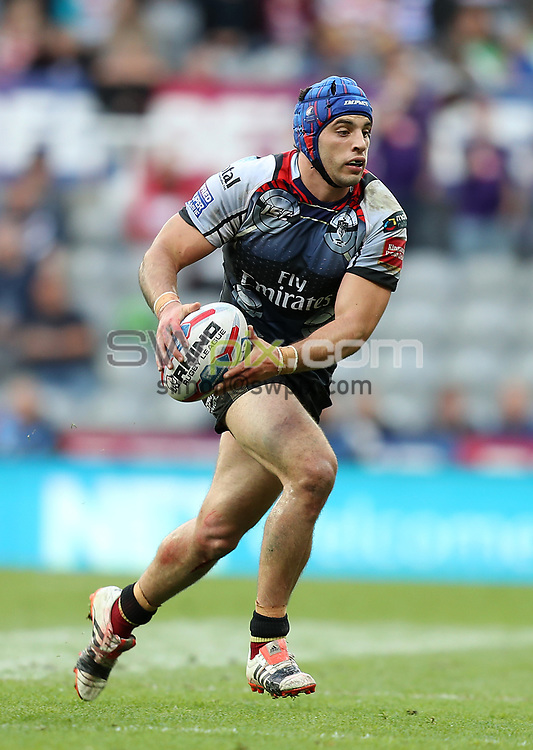 Picture by John Clifton/SWpix.com - 20/05/2017 - Rugby League - Dacia Magic Weekend - Wigan Warriors v Warrington Wolves - St James' Park, Newcastle, England - <br />