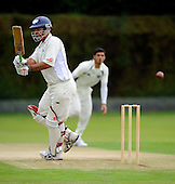 Cricket Scotland - Scottish Cup, semi-final - Uddingston CC V Dunformline CC, at Bothwell Policies, Uddingston - a spirited innings of Uddy opener Paul Hoffmann, 42 runs off 39 balls, set the scene for a home victory, chasing down the Dunfermline 77 all out total in 18 overs - Picture by Donald MacLeod 18.07.10 - mobile 07702 319 738 - clanmacleod@btinternet.com