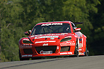 20 June 2008: The Racers Edge Motorsports Mazda RX-8 driven by Ross Smith (USA) and Craig Stone (USA) at the 2008 Rolex Sports Car Series Emco Gears Classic, Mid-Ohio Sports Car Course, Lexington, Ohio, USA.