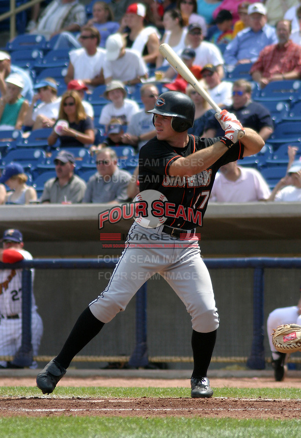 August 24, 2003:  Neal Stephenson of the Delmarva Shorebirds during a game at Classic Park in Eastlake, Ohio.  Photo by:  Mike Janes/Four Seam Images