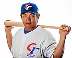 Peng, Cheng,Min of Team Chinese Taipei poses during WBC Photo Day on February 25, 2013 in Taichung, Taiwan. Photo by Victor Fraile / The Power of Sport Images
