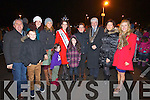 Pictured at the Aquadome fireworks on New Year's Eve were l-r: Oliver Hurley, Darragh Hurley, Susie O'Gara, Rebecca Kemp, Nicola McEvoy (Rose of Tralee) Dayna O'Brien Megan O'Brien Gretta O'Brien, Johnny Wall, Oonagh O'Gara and Patricia Marmion..