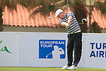 David Horsey (ENG) in action on the 1st tee during Day 2 Friday of the Open de Andalucia de Golf at Parador Golf Club Malaga 25th March 2011. (Photo Eoin Clarke/Golffile 2011)