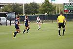 DENTON, TX - SEPTEMBER 30: North Texas Mean Green Soccer vs. UTSA at Mean Green Village Soccer Field in Denton on September 30, 2018 in Denton, Texas Photo Credit - Rick Yeatts Photography/Matt Pearce