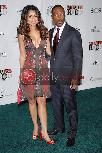 Tracey Edmonds and Eddie Murphy<br />