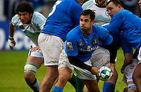 Photo: Richard Lane/Richard Lane Photography. Ireland U20 v Italy U20. Semi Final. 18/06/2008. Italy's Andrea Bacchetti.