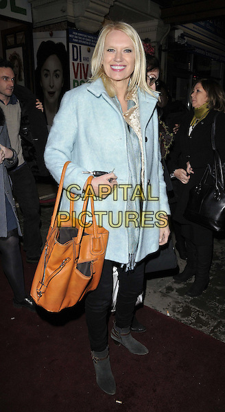 LONDON, ENGLAND - JANUARY 29: Anneka Rice attends the &quot;Di and Viv and Rose&quot; press night, Vaudeville Theatre, The Strand, on Thursday January 29, 2015 in London, England, UK. <br /> CAP/CAN<br /> &copy;Can Nguyen/Capital Pictures