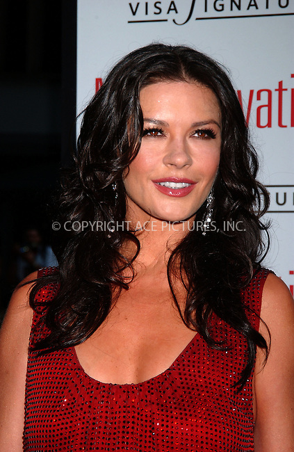 WWW.ACEPIXS.COM . . . . .....July 25, 2007. New York City.....Actress Catherine Zeta-Jones arrives at the premiere of 'No Reservations' held at Ziegfeld Theatre in New York City...  ....Please byline: Kristin Callahan - ACEPIXS.COM..... *** ***..Ace Pictures, Inc:  ..Philip Vaughan (646) 769 0430..e-mail: info@acepixs.com..web: http://www.acepixs.com