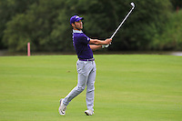 Jeremy Gandon (AM)(FRA) on the 1st fairway during Round 2 of the 100th Open de France, played at Le Golf National, Guyancourt, Paris, France. 01/07/2016. <br /> Picture: Thos Caffrey | Golffile<br /> <br /> All photos usage must carry mandatory copyright credit   (&copy; Golffile | Thos Caffrey)